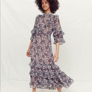 Christy Dawn Bijou Thistle Paisley Dress S